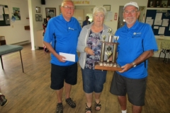Central Saanich Mens Pairs Winners
